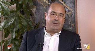 """Referendum, Zingaretti: """"Non condivido argomenti del M5s. Ma è per questo che non mi tiro indietro"""""""