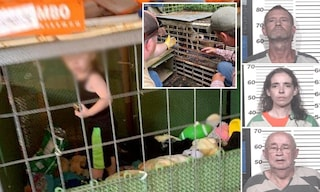 Bimbo di un anno e mezzo vive rinchiuso in una gabbia: circondato da scarafaggi, topi e serpenti
