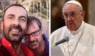 """Andrea e Dario, la coppia che ha ispirato il Papa su unioni civili, chiese: """"Il Parroco vi accetta?"""""""