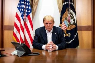 """Donald Trump lascia l'ospedale: """"Non abbiate paura del Coronavirus, mi sento meglio di 20 anni fa"""""""