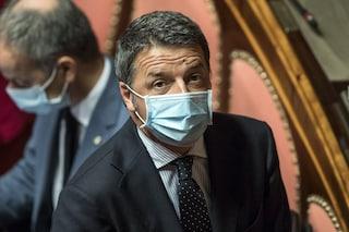 """Renzi: """"No al coprifuoco, può essere solo misura emergenziale e temporanea"""""""