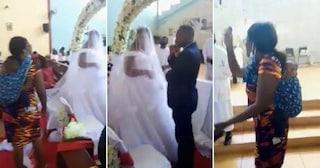 """Una donna infuriata fa irruzione in chiesa durante un matrimonio: """"Lo sposo è mio marito!"""""""