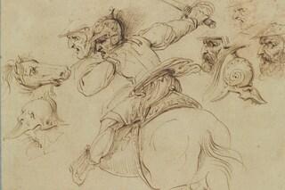 """Leonardo non dipinse la Battaglia di Anghiari: """"Falso mito alimentato da Dan Brown"""""""