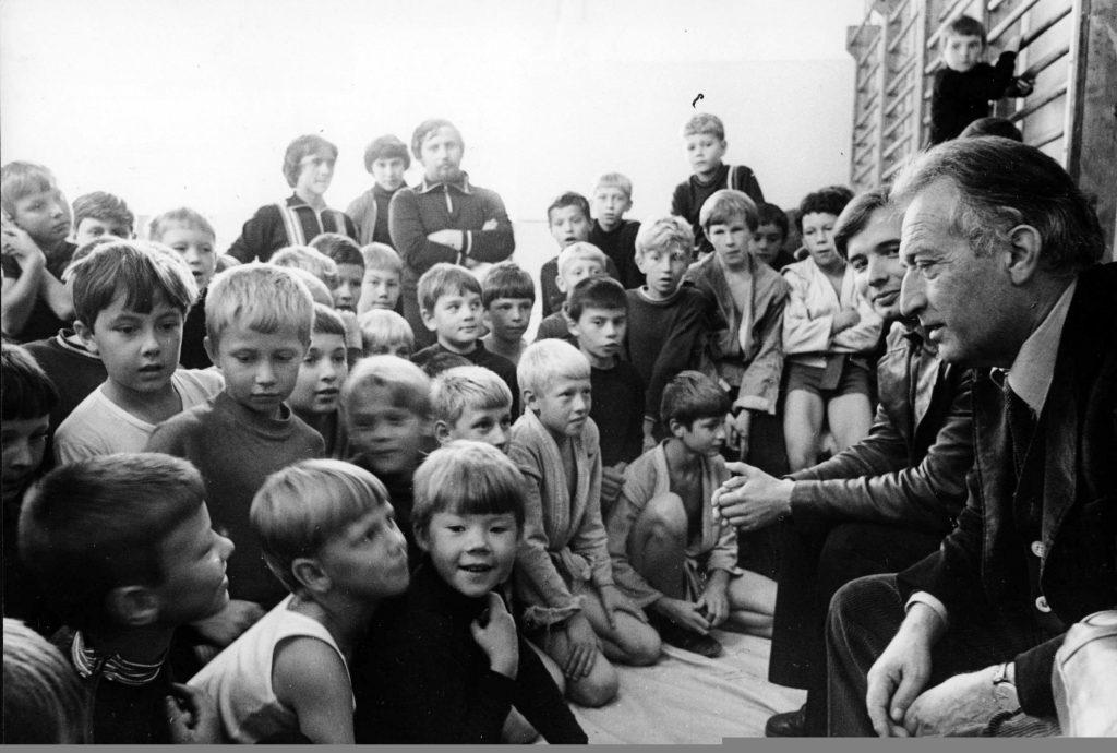 1979 MOSCA – GIANNI RODARI NELL'URSS @LaPresse