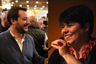 """Matteo Salvini aizza i social contro Michela Murgia, la scrittrice: """"Intervenga la Digos"""""""