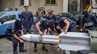 Arrestato perché vendeva un missile: di nuovo in manette per traffico d'armi Fabio Del Bergiolo