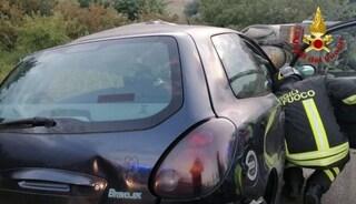 Drammatico incidente stradale a Ussana: scontro tra un'autocisterna e auto, muore una donna
