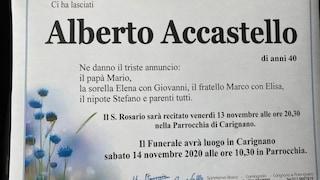 """Strage Carignano, il funerale del padre killer. Il vescovo: """"La chiesa accoglie tutti senza giudicare"""""""