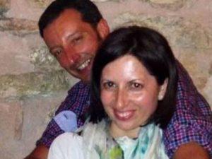 Barbara Marinelli e il marito Matteo, morti ad Amatrice