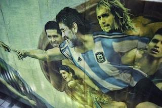 La Cappella Sistina del calcio: l'affresco dove Maradona è Dio e Messi diventa Adamo