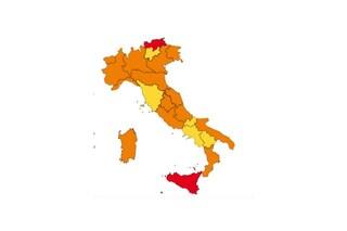 Quali Regioni potrebbero cambiare colore da domenica prossima