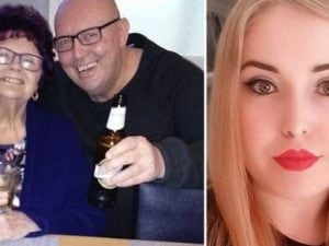 Le due vittime e la loro nipote