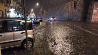 Sicilia, nubifragio a Termini Imerese: strade allagate e decine di interventi dei pompieri