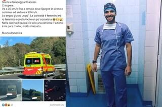 """Ambulanza inseguita da negazionista, la risposta del 118: """"Amareggiati da complottismo ignorante"""""""