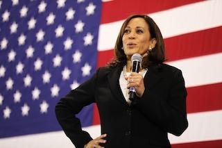 """Il discorso di Kamala Harris: """"Sono la prima donna vicepresidente, ma non sarò l'ultima"""""""