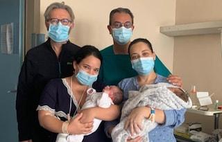 Brindisi, due sorelle partoriscono insieme: Giorgia e Camilla nate a pochi minuti di distanza