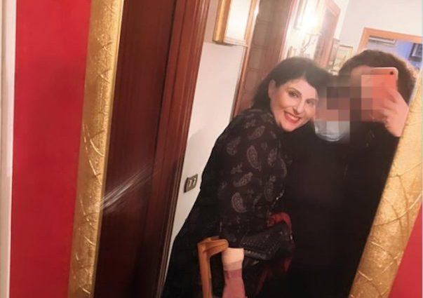 Maria Antonietta Rositani a casa