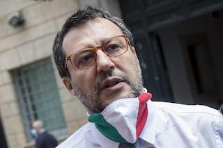 """Vaccino Covid, Salvini: """"Nessun obbligo per i medici no vax, no a liste di proscrizione"""""""