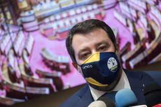 """Matteo Salvini: """"Se l'opposizione approverà il Mes, finirà di essere compagna di strada della Lega"""""""