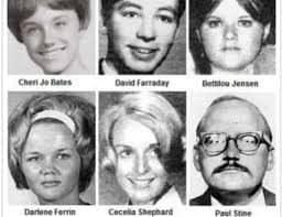 Alcune delle vittime di Zodiac