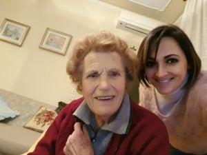 Silvia e sua nonna