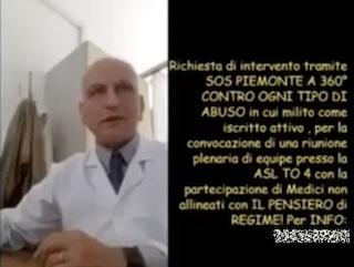 """""""Il vaccino antinfluenzale rafforza il Covid"""": l'Asl di Torino taglia lo stipendio a medico no vax"""
