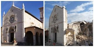 """A 4 anni dal terremoto """"è già stata messa in sicurezza"""" la basilica di San Benedetto a Norcia"""