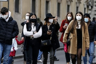Perché non ritornerà l'obbligo di mascherine all'aperto neanche con risalita casi da variante Delta