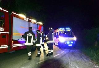 Verona, scontro fra auto e carro attrezzi: la vettura si ribalta, un morto e un ferito