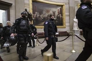 Usa, morto l'agente di polizia Brian Sicknick, ferito negli scontri al Congresso