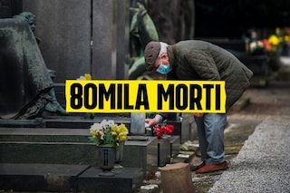 Più di 80.000 morti per Covid in Italia dall'inizio della pandemia
