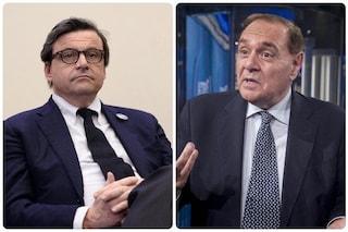 """Scontro Calenda-Mastella, Calenda chiama in diretta e Mastella lascia la trasmissione: """"Burinotto"""""""