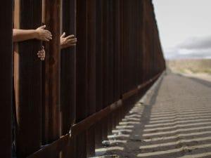 Il muso costruito da Trump al confine col Messico