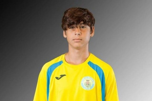 "Emanuele (foto Facebook ""Città di Cossato Under 15"")"