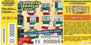 Terza categoria Lotteria Italia 2021, i 100 biglietti vincenti: premio di 25mila euro