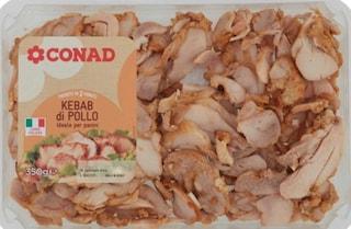 """Conad ritira confezione di kebab di pollo: """"Possibile presenza di plastica, non consumatelo"""""""