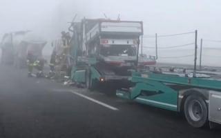 Ferrara, sette incidenti in poche ore sulla A13 per nebbia e ghiaccio: due vittime e 11 feriti