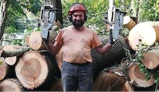 Travolto da un albero mentre lavora nel bosco: Luigi muore come il fratello 25 anni prima