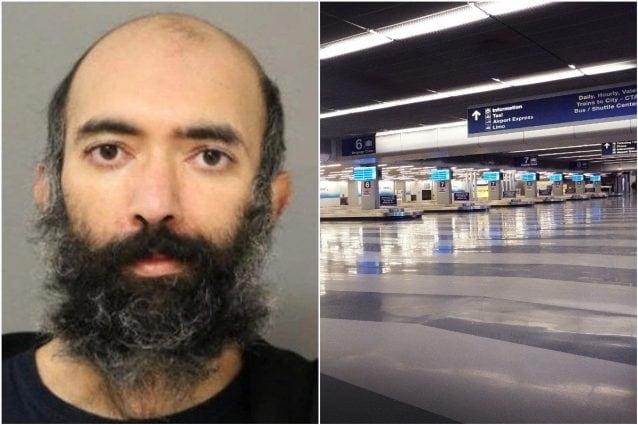 Teme di essere contagiato dal Covid, per tre mesi vive nell'aeroporto di Chicago