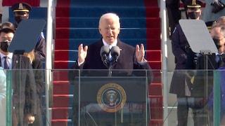 Cosa ha detto Joe Biden nel suo primo discorso da presidente Usa alla cerimonia d'insediamento