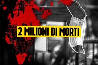 Nel mondo superati i due milioni di morti per Coronavirus