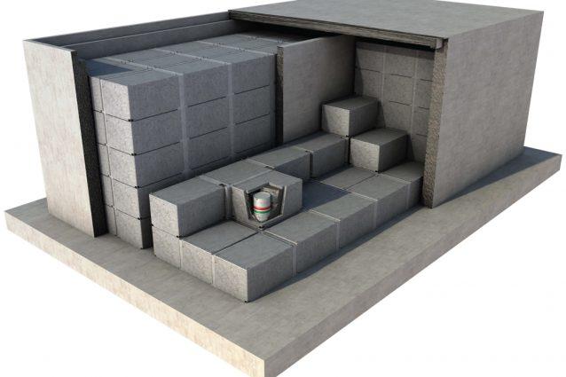 il progetto del deposito per i rifiuti radioattivi