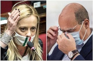 Sondaggi elettorali, l'opposizione fa bene a Fratelli d'Italia: Meloni pronta a superare il Pd