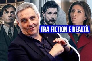 """Maurizio De Giovanni è l'uomo di fiction: """"Mi piace la Napoli colorata di Mina Settembre"""""""