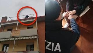 Modena, anziana vuole buttarsi dal tetto: salvata in extremis da tre poliziotti
