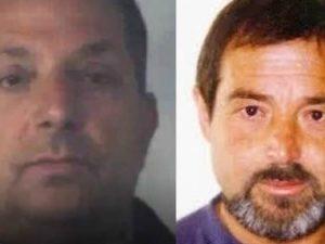 Il killer (a sinistra) e la vittima (a destra)
