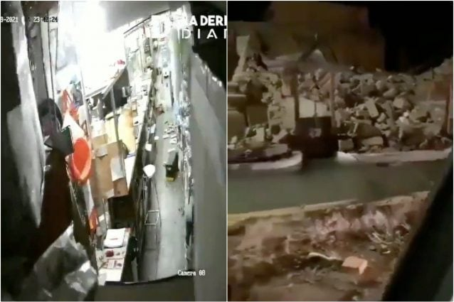 I danni provocati dal terremoto in Argentina