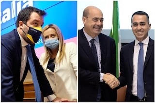 Sondaggi elettorali: giù Lega e Fratelli d'Italia, ora Pd e Movimento 5 Stelle si avvicinano