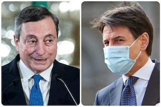 Sondaggi politici, Draghi e Conte sono i leader di cui gli italiani si fidano di più
