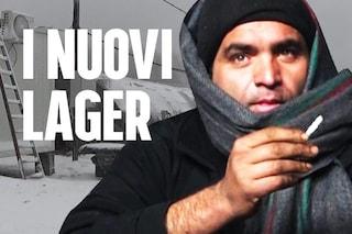 """Nel campo di Lipa, inferno gelato dei migranti sulla rotta balcanica: """"Meglio in prigione"""""""